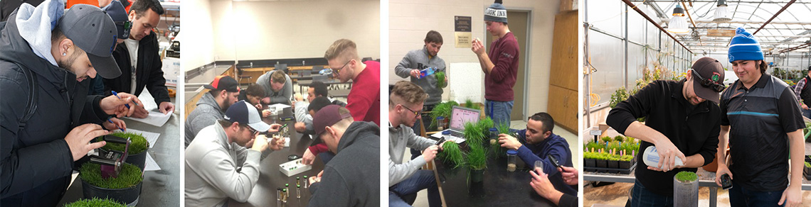 Turf students featured in various workshops and study sessions