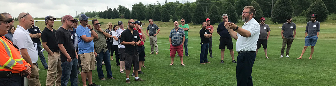 Sports Turf Canada Research Field Day 2018 - Guelph Turfgrass